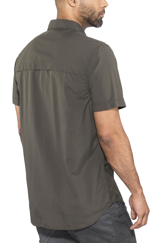 515db13a8b5 Fjällräven Abisko Hike t-shirt Heren grijs l Online outdoor shop ...